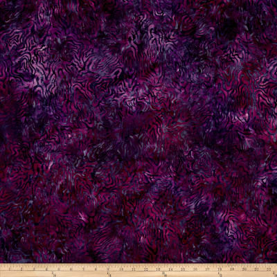 "106"" Wide Wilmington Batik Quilt Back Rippled Reflections Dk.Purple"