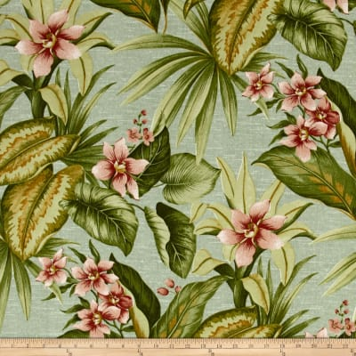 Tempo Indoor/Outdoor Floral Green