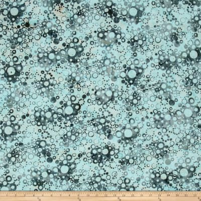 Bali Batiks Handpaints Bubble Dots Seafoam