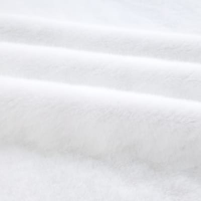 Shannon Faux Fur Sable White