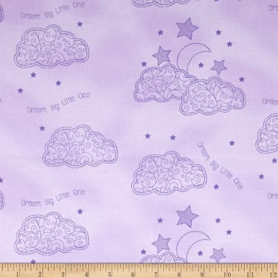 First Words Star Clouds Purple