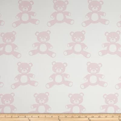 Premier Prints Teddy Twill White/Bella