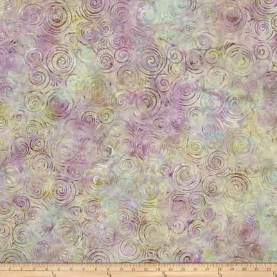 Wilmington Batik Spinning Circles Little Tan/Olive