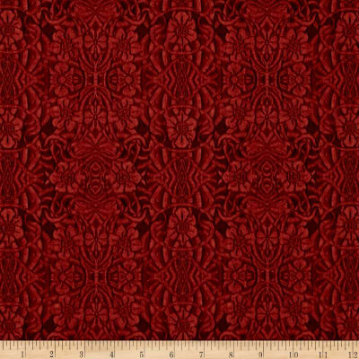 Longfellow Tooled Leather Old Red