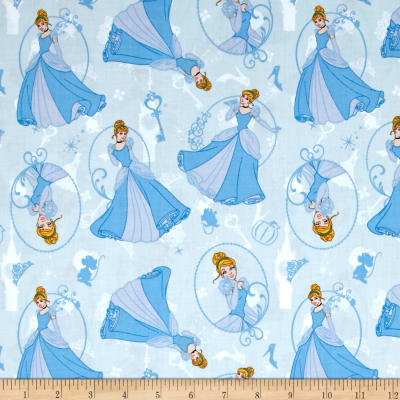 Disney Princess Cinderella Light Blue