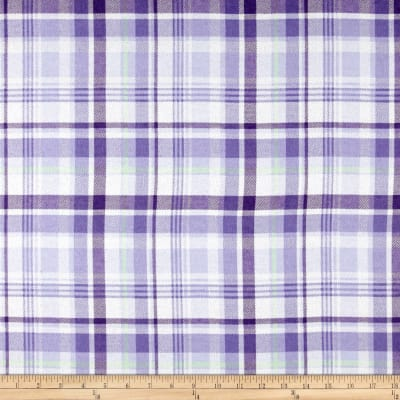 Morgan Plaid Flannel Lilac