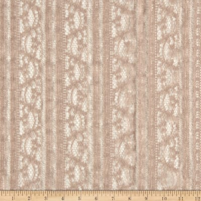 Novelty Lace Beige