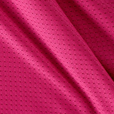 Stretch Athletic Mesh Knit Hot Pink