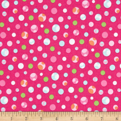 Girly-o-Saurus Dino Dots Pink