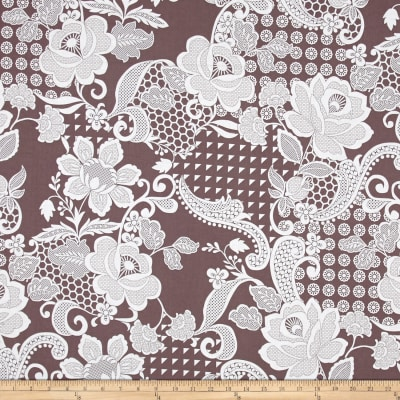 Hoffman Simply Eclectic Chantilly Aubergine