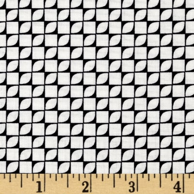 Hoffman Simply Eclectic Geo Blocks Black/White