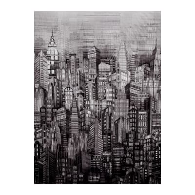 Hoffman Skylines Digital Print Steel