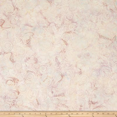 Wilmington Batiks Spinning Circles Ivory/Tan