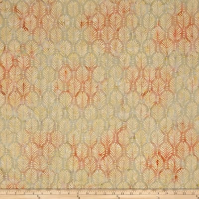 Wilmington Batiks Palm Texture Ivory/Peach