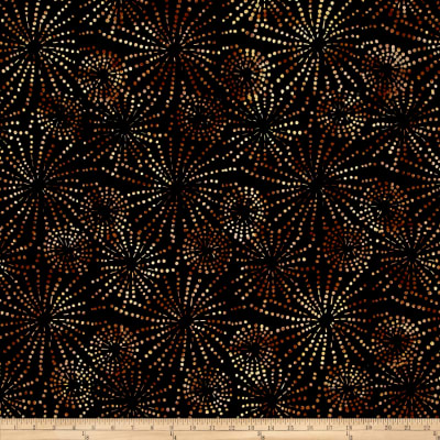 Wilmington Batiks Sparklets Black/Brown