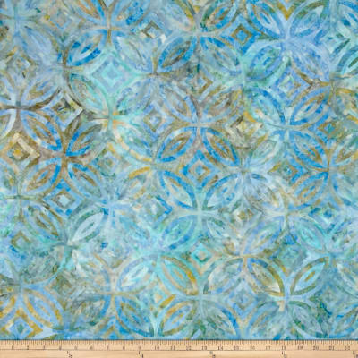 Timeless Treasures Tonga Batiks Oceana Stained Glass Scuba