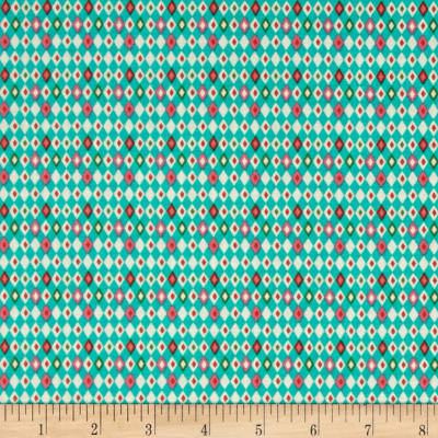Riley Blake Kitchen Harlequin Teal