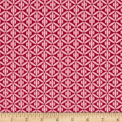 Riley Blake Botanique Criss-Cross Berry