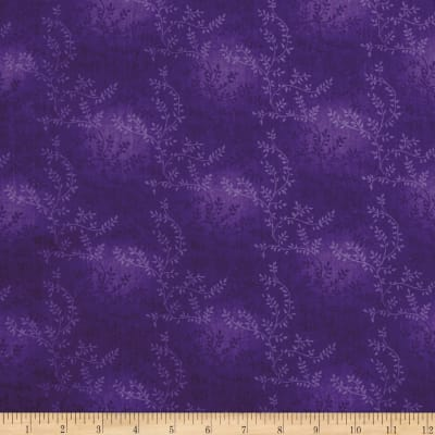 "108"" Wide Quilt Back Tonal Vineyard Purple"