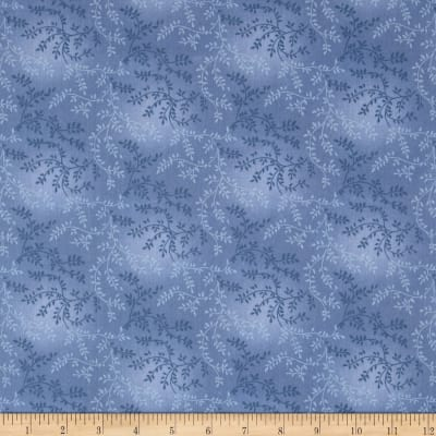 "108"" Wide Quilt Back Tonal Vineyard Slate Blue"