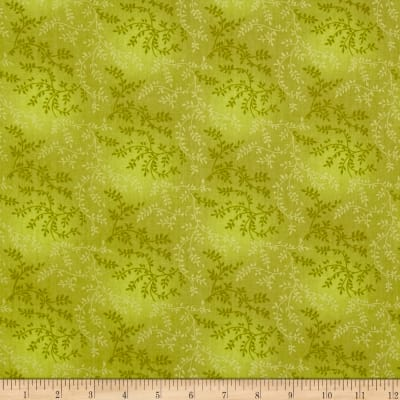 "108"" Wide Quilt Back Tonal Vineyard Leaf Green"