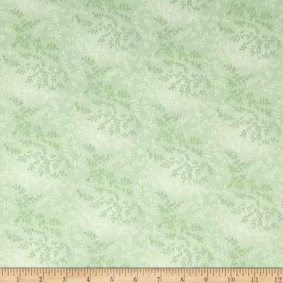 "108"" Wide Quilt Back Tonal Vineyard Mint"