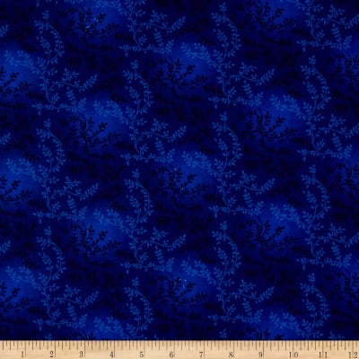 "108"" Wide Quilt Back Tonal Vineyard Royal Blue"