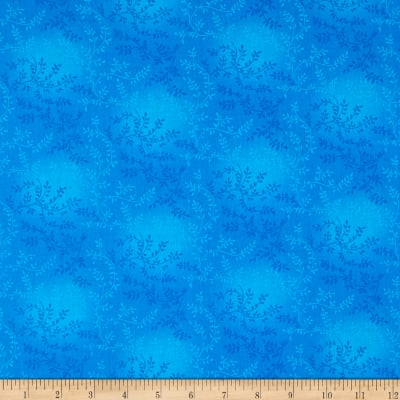 "108"" Wide Quilt Back Tonal Vineyard Cerulan Blue"