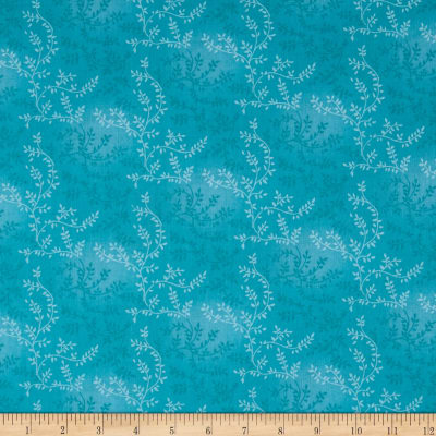 "108"" Wide Quilt Back Tonal Vineyard Turquoise"