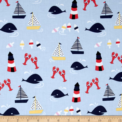 Dear Stella Rock Lobster Sea Motifs Multi