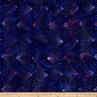 Kaufman Artisan Batiks Graphic Elements Burst Grape