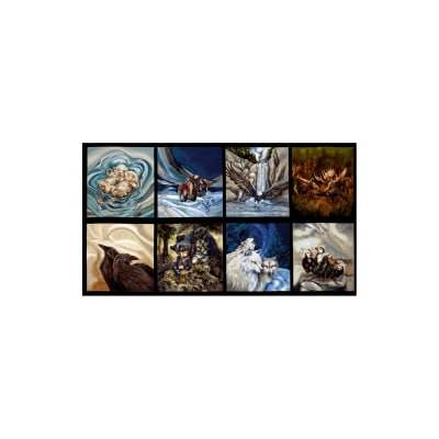Kaufman North American Wildlife 4 Panel Nature