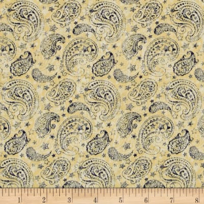 Colors Of Freedom Paisley Ivory