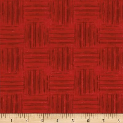 Colors Of Freedom Basket Weave Red