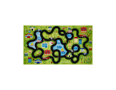 """Help Is On The Way 24"""" Playmat Panel Multi"""