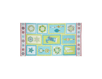 "Sparkle Panel 24"" Turquoise Multi"