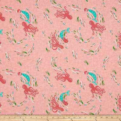 Moda Coral Queen Of The Sea Above Sea View Pink