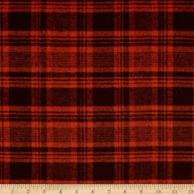 Primo Flannel Harvest Plaid Orange