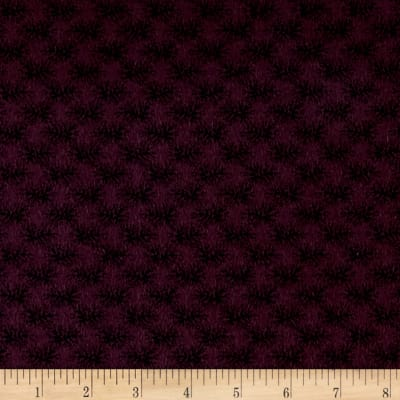 Cozies Flannel Leaves Purple