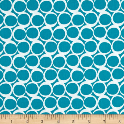 Art Gallery Round Elements Vintage Teal