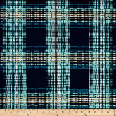 Art Gallery Dare Wafting Plaid Marked