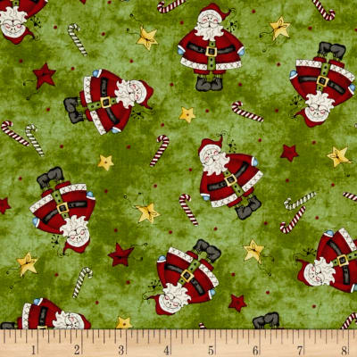 Just Be Claus Tiny Santa Green