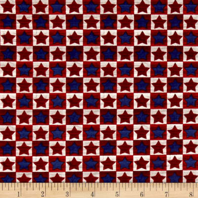 American Pride Proud To Be American Checkerboard Blue & Red