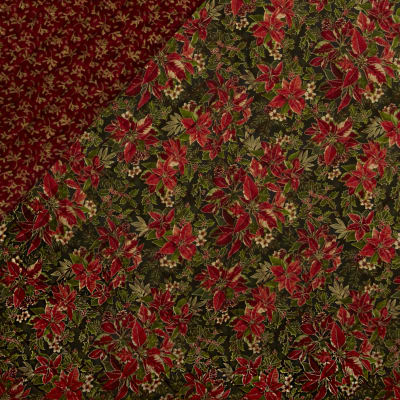 Yuletide Magic Double Sided Quilted Red
