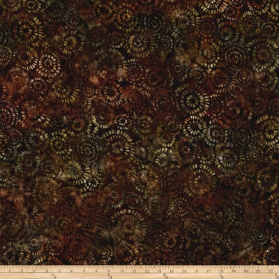 Kaufman Natural Formation Batiks Flower Burst Jungle