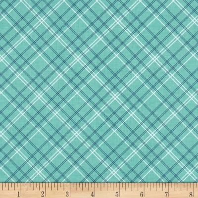 Riley Blake Calico Days Plaid Mint