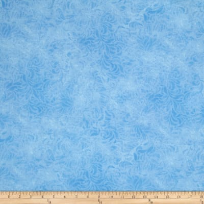 "110"" Wide Quilt Back Bella Suede Light Blue"
