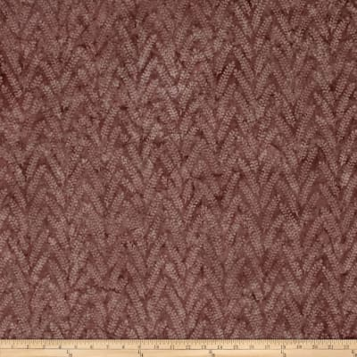 Bali Batiks Handpaints Linear Leaf Mauve