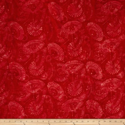 Bali Batiks Handpaints Parisols Red