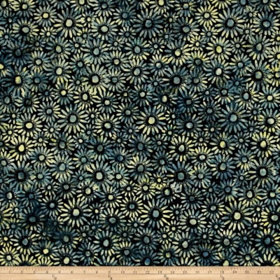 Bali Batiks Handpaints Daisies Splash